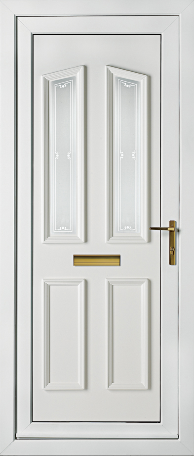UPVC_kingston_two_sandblasted_edwardian_border_door_panel